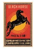 Black Horse Prints