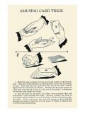 Amusing Card Trick Prints