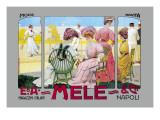 Mode Novita, E. A. Mele Poster von Leopoldo Metlicovitz