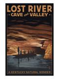 Lost River Cave and Valley - A Kentucky Natural Wonder Kunstdrucke von  Lantern Press