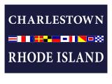 Charlestown, Rhode Island - Nautical Flags Posters by  Lantern Press