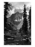 Colorado - Snowmass Lake Plakater af  Lantern Press