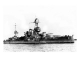 USS Texas Ship Stampe di  Lantern Press