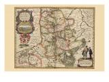 Limburg Kunstdrucke von Pieter Van der Keere