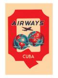 Q Airways Cuba Poster