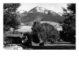 Livingston, Montana - Vista View of Mt Baldy Kunstdrucke von  Lantern Press