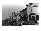 Telluride, Colorado - View of a Pack Train Stampe di  Lantern Press