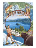 Lake Tahoe, CA Summer Views Posters by  Lantern Press