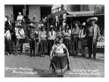 Los Angeles, California - Spanish-Mexican Dance Contest Pôsteres por  Lantern Press