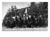 Rothbury, Michigan - Wranglers at the Jack and Jill Ranch Pósters por  Lantern Press