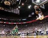 Boston Celtics v Miami Heat - Game Five, Miami, FL - MAY 11: LeBron James Foto af Mike Ehrmann