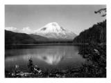 Mount St. Helens From Spirit Lake, 1923 Giclée-Druck von Asahel Curtis