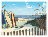 East Coast Sea Boards Posters par Scott Westmoreland