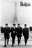 The Beatles in Paris Poster