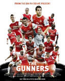 """Arsenal - Players """"The Gunners"""" 2010/11 Affiche"""