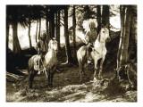 Yakama Warriors, 1911 Giclee Print by L.V. McWhorter