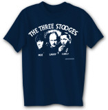 3 Stooges Silhouette Magliette