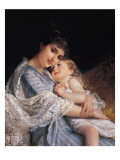 Maternal Affection Giclee Print by Emile Munier