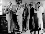 Jean-Paul Belmondo, Lino Ventura and Bernard Blier: 100,000 Dollars Au Soleil, 1964 Fotografie-Druck von  Limot