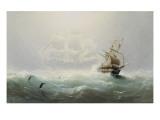 The Flying Dutchman Giclee-trykk av Charles Temple Dix