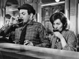 Annie Girardot and Lino Ventura: Le Bateau D'Emile, 1962 Fotografisk trykk av Marcel Dole