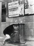 Pierre Brasseur, August 1, 1957 Fotografisk trykk av Luc Fournol