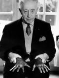 Arthur Rubinstein (1887-1982) Fotografisk trykk av Luc Fournol