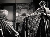Jean Gabin and Jean-Paul Belmondo: Un Singe En Hiver, 1962 Fotografie-Druck von Marcel Dole