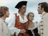 Jacques Brel, Bernard Alane and Claude Jade: Mon Oncle Benjamin, 1969 Fotografisk trykk av Marcel Dole