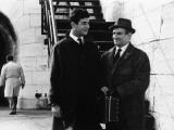 """Louis de Funès and Jean-Claude Brialy (episode """"Bien d'autrui ne prendras""""): Le Diable et Les Dix C Impressão fotográfica por  Limot"""