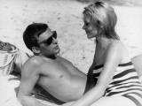 Jean-Louis Trintignant and Françoise Brion: Le Coeur Battant, 1960 Fotografisk trykk av Marcel Dole