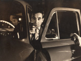 Charles Aznavour: Horace 62, 1962 Fotografie-Druck von Marcel Dole