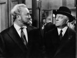 Jean Gabin and Pierre Brasseur: Les Grandes Familles, 1958 Fotografisk trykk av Marcel Dole