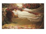 The Sleeping Beauty Impressão giclée por Thomas Ralph Spence