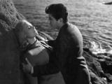 Daniel Gelin and Michele Morgan: Retour de Manivelle, 1957 Photographic Print by Marcel Dole