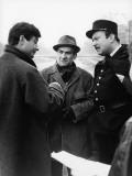 """Louis de Funès, Jean-Claude Brialy and Yves Barsacq (episode """"Bien d'autrui ne prendras""""): Le Diabl Impressão fotográfica por  Limot"""