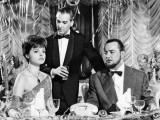 Nadja Tiller, José Luis de Villalonga and Pierre Brasseur: L'Affaire Nina B., 1961 Valokuvavedos tekijänä Marcel Dole