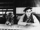 Buster Keaton: Go West, 1925 Photographic Print