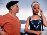 Louis de Funès and Geneviève Grad: Le Gendarme de Saint-Tropez, 1964 Photographic Print by Marcel Dole