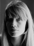 Françoise Hardy Fotografie-Druck von Luc Fournol