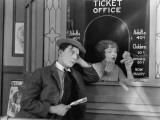 Buster Keaton: Sherlock, Jr., 1924 Photographic Print