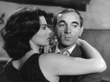 Charles Aznavour and Giovanna Ralli: Horace 62, 1962 Fotografie-Druck von Marcel Dole