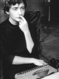 Françoise Sagan Impressão fotográfica por Luc Fournol