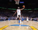 Dallas Mavericks v Oklahoma City Thunder - Game Three, Oklahoma City, OK - MAY 21: James Harden Fotografia por Joe Murphy