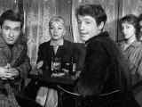 Andréa Parisy, Jean-Paul Belmondo, Dany Saval and Jacques Portet: Les Tricheurs, 1958 Impressão fotográfica por  Limot