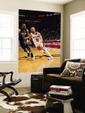 Memphis Grizzlies v San Antonio Spurs - Game One, San Antonio, TX - April 17: Tony Parker and Mike  Vægplakat