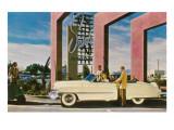 Sands Hotel, Las Vegas,  Nevada , Retro Affiches