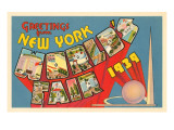 Greetings from New York World's Fair, 1939 Posters