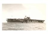 USS Aircraft Carrier Yorktown Print