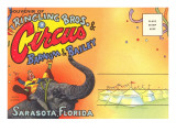 Postcard Folder, Ringling Brothers Circus Prints